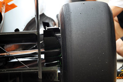 Sahara Force India F1 rear suspension detail