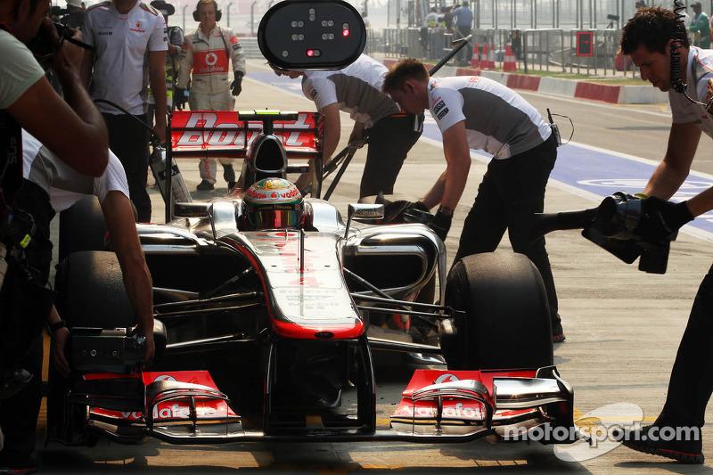 Lewis Hamilton, McLaren MP4/27