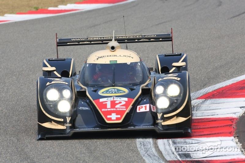 #12 Rebellion Racing Lola B12/60 Coupé Toyota: Nicolas Prost, Neel Jani