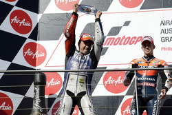 2012 champion Jorge Lorenzo, Yamaha Factory Racing celebrates