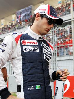Bruno Senna, Williams on the grid