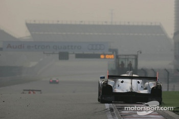 #1 Audi Sport Team Joest R18 e-tron quattro: Marcel Fssler, Benoit Trluyer, Andre Lotterer