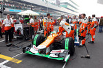 Sahara Force India F1 on the grid