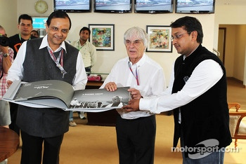 Bernie Ecclestone, MD & CEO Jaypee Sports International Ltd on his 82nd birthday