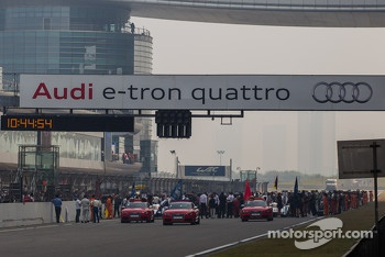Grid is set for Sunday's 6 hours of Shanghai
