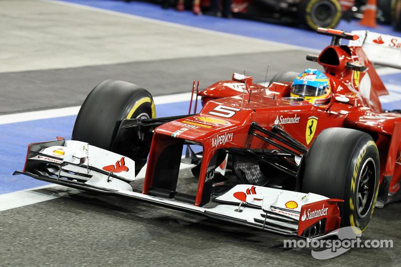 Fernando Alonso, Ferrari front wing