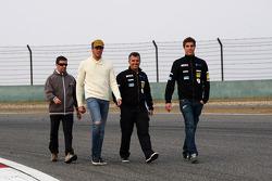 Fernando Monje, SEAT Leon WTCC, SUNRED Engineering and Pepe Oriola, SEAT Leon WTCC, Tuenti Racing Team