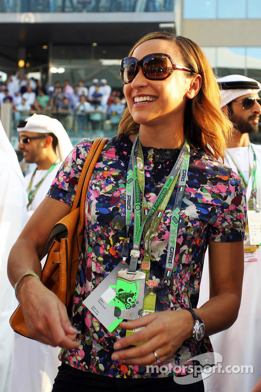 Jessica Ennis, Olympic Heptathlon Champion on the grid