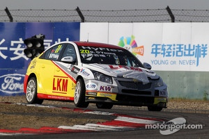 Bamboo Engineering Chevrolet Cruze at WTCC Shanghai race, 2012