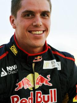 Luiz Razia, Scuderia Toro Rosso Test Driver