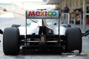 Esteban Gutierrez, Sauber Third Driver in the pits
