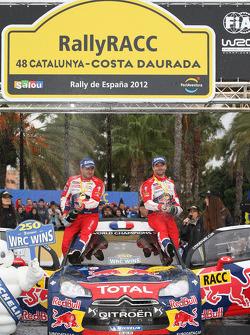 Sébastien Loeb and Jari-Matti Latvala