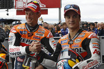 Casey Stoner and Dani Pedrosa