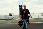 Sebastien Buemi, Red Bull Racing and Scuderia Toro Rosso Reserve Driver walks the circuit