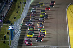 Start: Parker Kligerman, Red Horse Racing Toyota lead the field