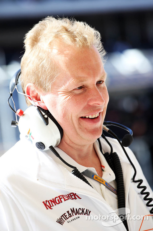 Andrew Green, Sahara Force India F1 Team Technical Director