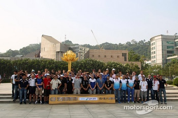 59th Macau Grand Prix promotional photo shoot