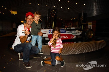 Tiago Monteiro, Honda Civic Super 2000 TC, Honda Racing Team Jas and his sons