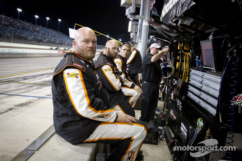 Crew members for Regan Smith, JR Motorsports Chevrolet
