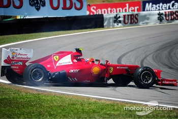 Felipe Massa, Ferrari spins