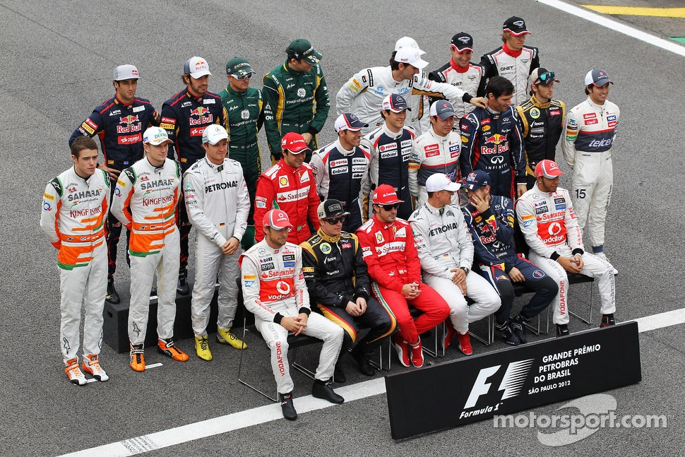 Drivers end of year photograph