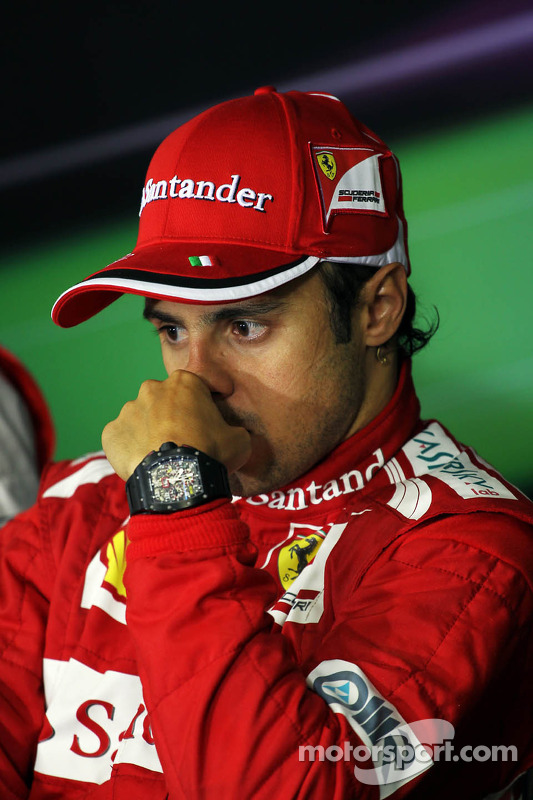 Felipe Massa, Ferrari in the FIA Press Conference