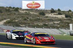 Ferrari Challenge practice