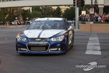 James Buescher drives the 2013 Chevrolet SS