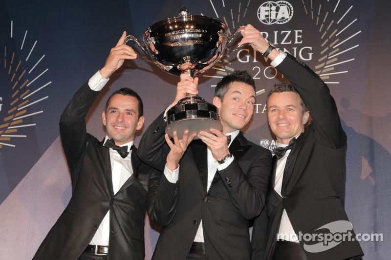 FIA World Endurance Championship - Andre Lotterer - Benoit Treluyer - Marcel Fassler