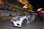 Sbastien Ogier and Julien Ingrassia arrive in the new Volkswagen Polo R WRC