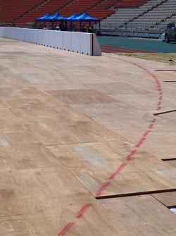 Track prep
