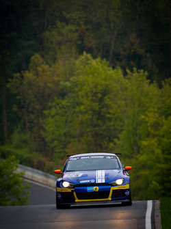 #128 LMS Engineering Volkswagen Scirocco GT24: Christian Krognes, Maik Rosenberg