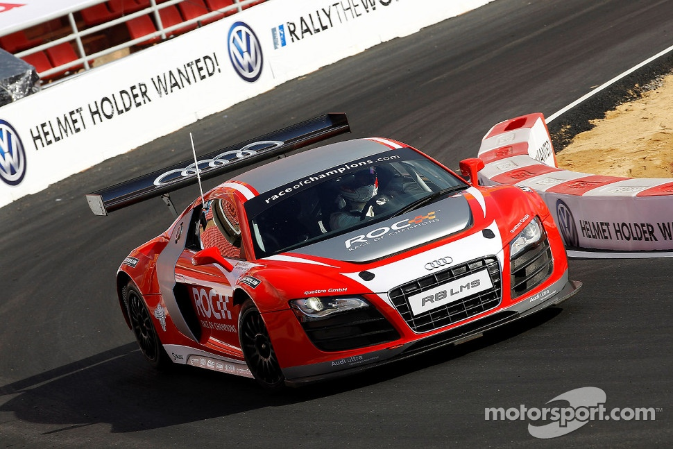 Audi R8 LMS, a successful 570HP racing sportscar.