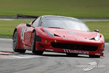 #4 Kessel Racing Ferrari 458 Italia: Tiziano Carugati, Mario Cordoni, Mathias Beche