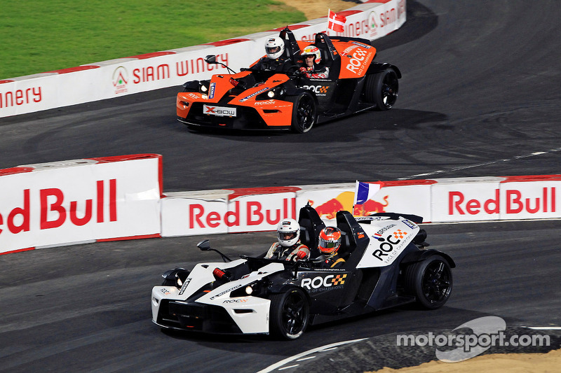 Romain Grosjean vs Tom Kristensen