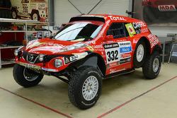 #332 Nissan Juke Buggy: Stéphane Wintenberger, Thierry Delli-Zotti