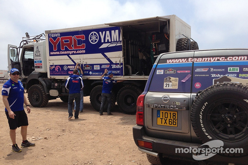 Team YRC Yamaha area