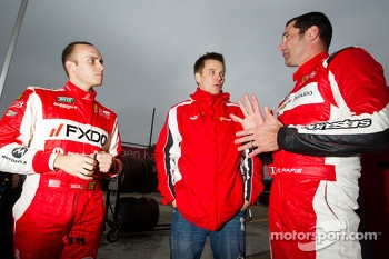 Jeff Segal, Toni Vilander and Max Papis