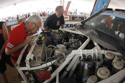 Car scrutineering