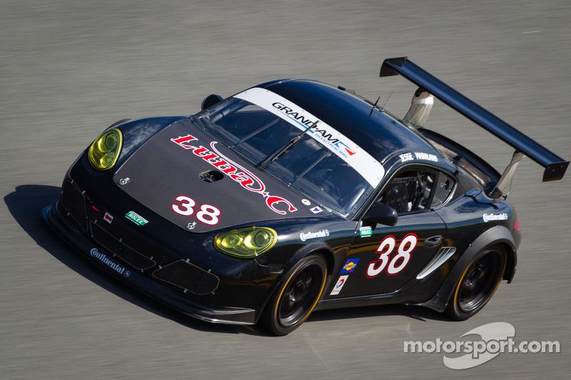 #38 BGB Motorsports Porsche Cayman: Lee Davis, Ryan Eversley, Eric Foss, Jeff Mosing