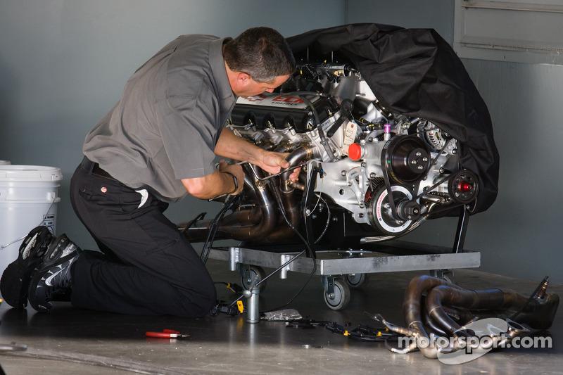 Richard Childress Racing Chevrolet powerplant