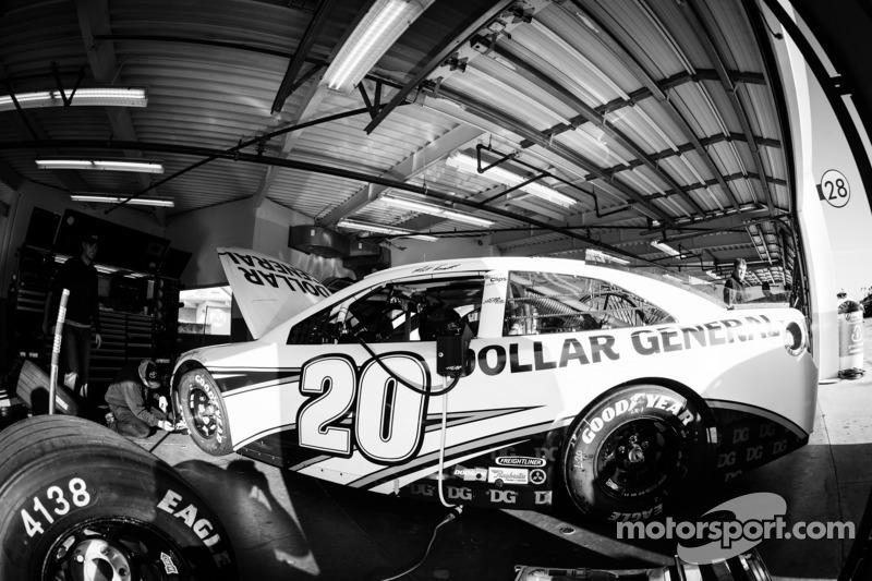 Car of Matt Kenseth, Joe Gibbs Racing Toyota