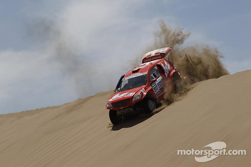 #317 Sam-Mercedes: Matthias Kahle and Thomas Schuenemann