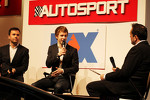 Oliver Turvey, McLaren Test Driver on the Autosport Stage