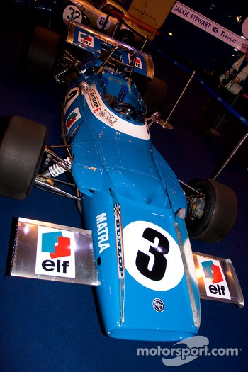 Jackie Stewarts Matra Tyrrell F1 car