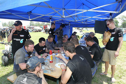 Breakfast at the de Rooy camp