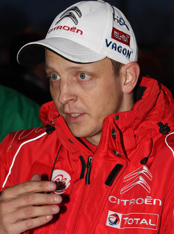 Mikko Hirvonen, Citroën DS3 WRC, Citroën Total Abu Dhabi World Rally Team