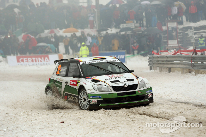 Sepp Wiegand and Timo Gottschalk, Skoda Fabia S2000