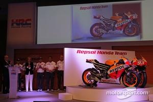 The 2013 Repsol Honda Team challenger