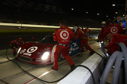 Pit stop #02 Chip Ganassi Racing BMW Riley